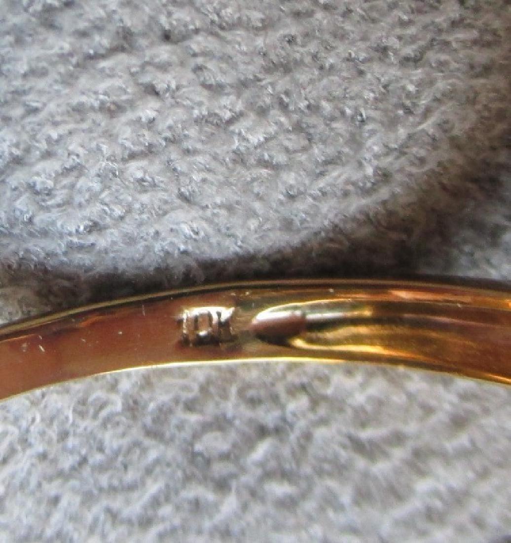 10k Gold and Tanzanite Ring - 4