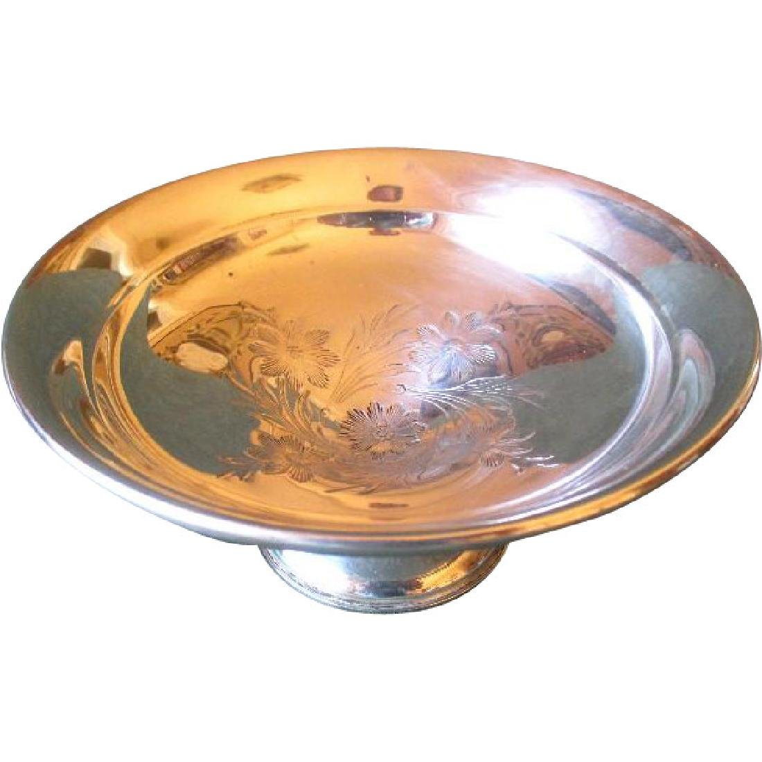 Reed & Barton Weighted Sterling Silver Compote with
