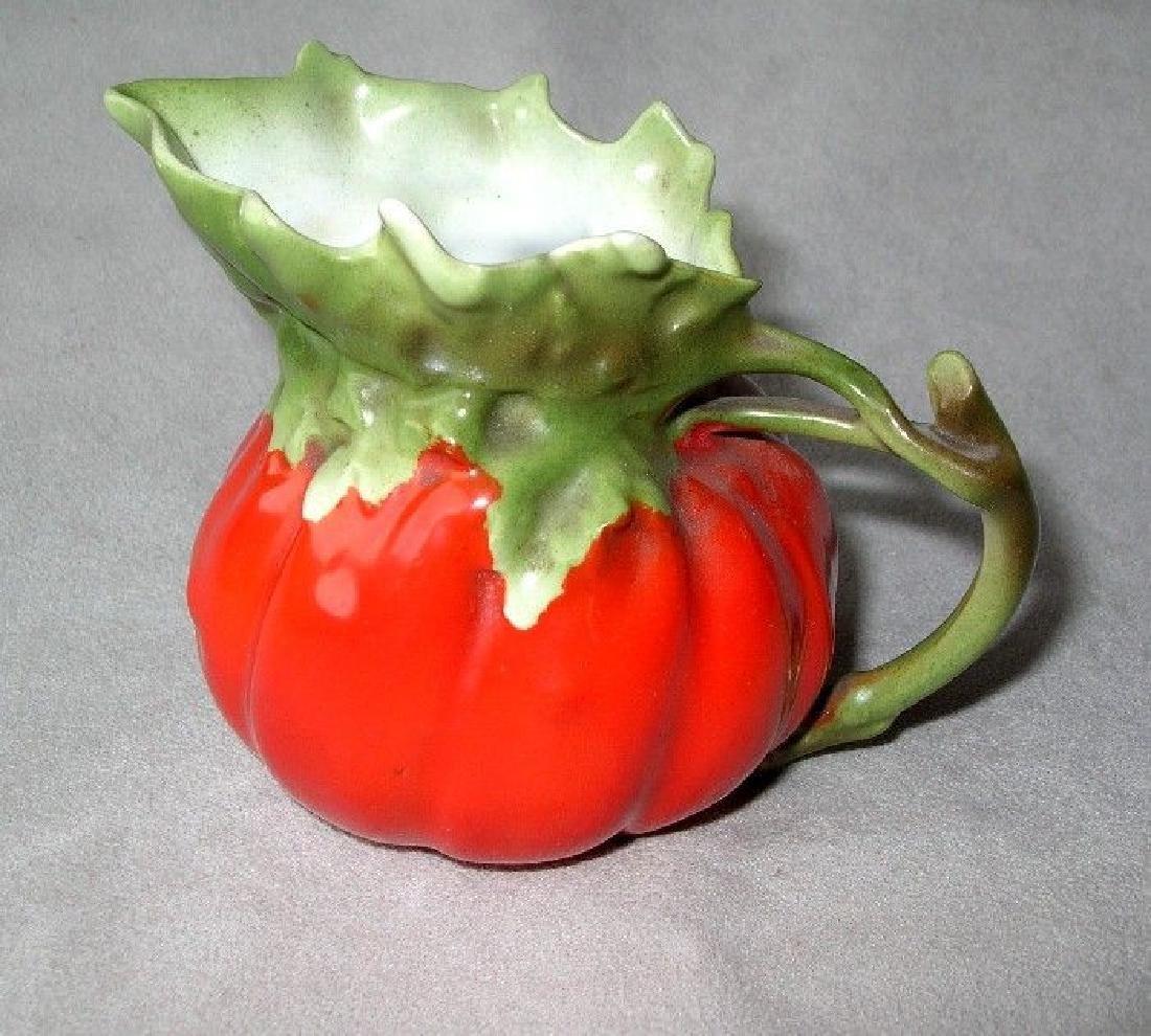 "Beautiful Royal Bayreuth ""Tomato"" Cream Pitcher"