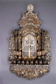A Highly Important, Parcel Gilt, Silver Hanging