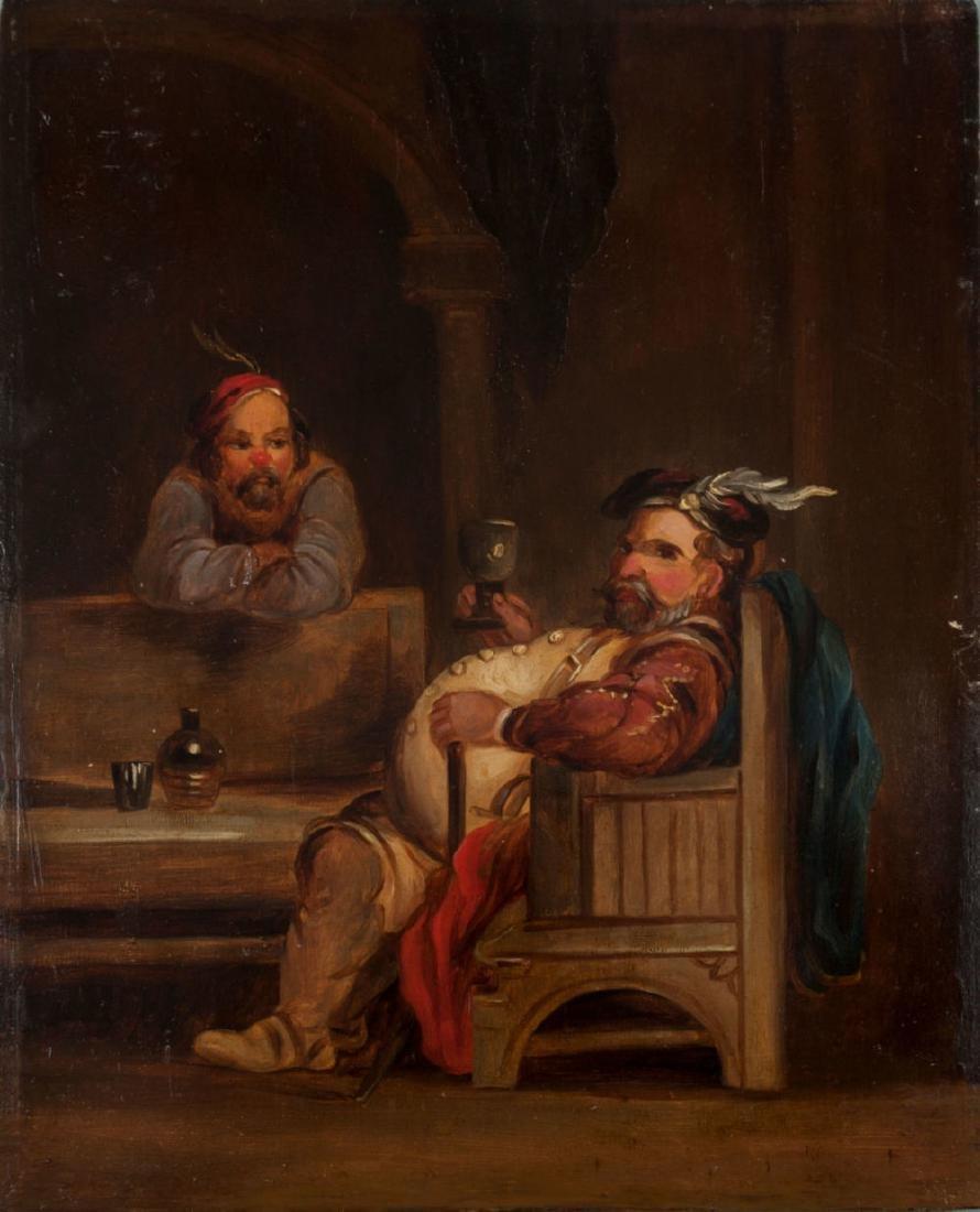 Dutch School, Late 18th-Early 19th Century, Tavern