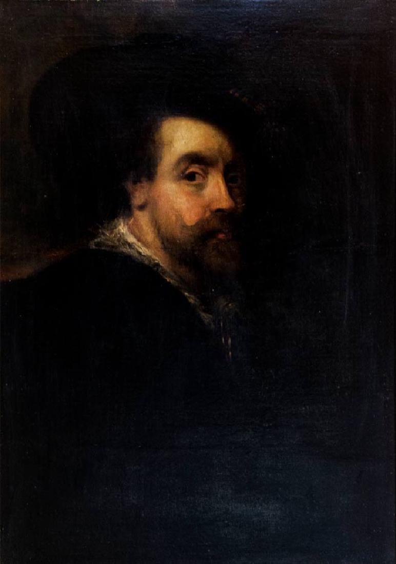 After Paul Rubens, Self Portrait