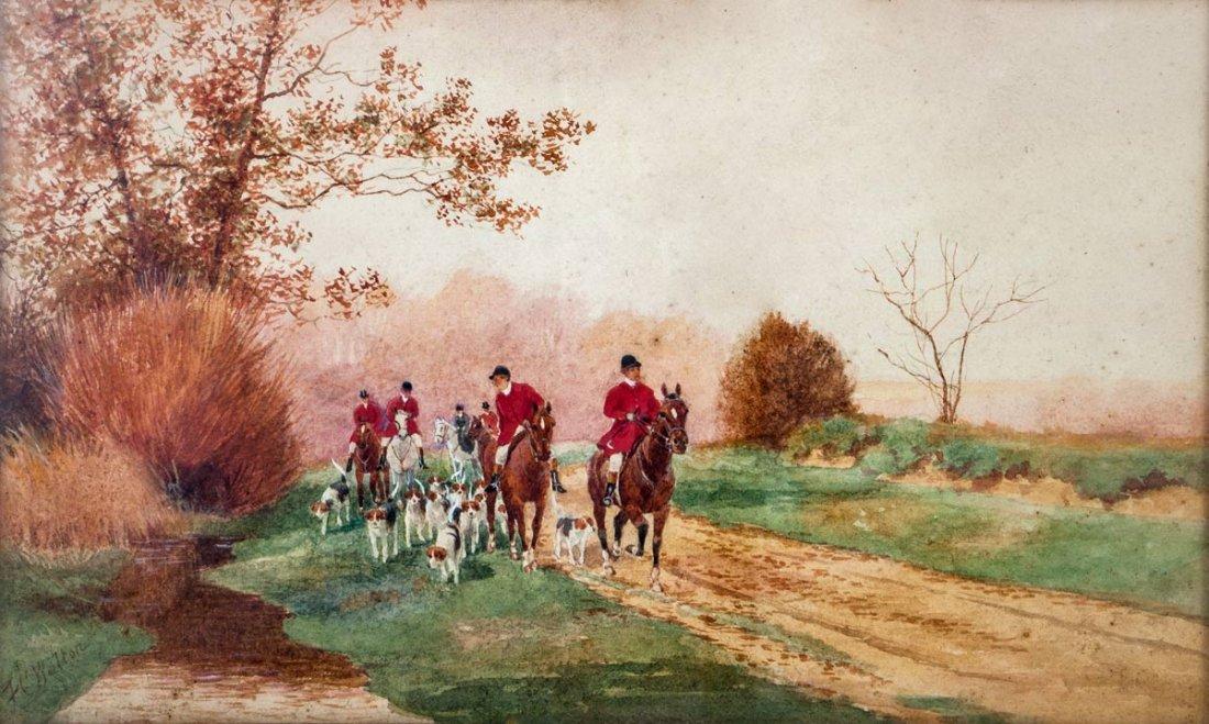 F. C. Walton (19th Century), Hunt