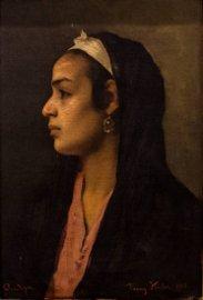 Franz Xaver Kosler (1864-1905), Oriental Beauty