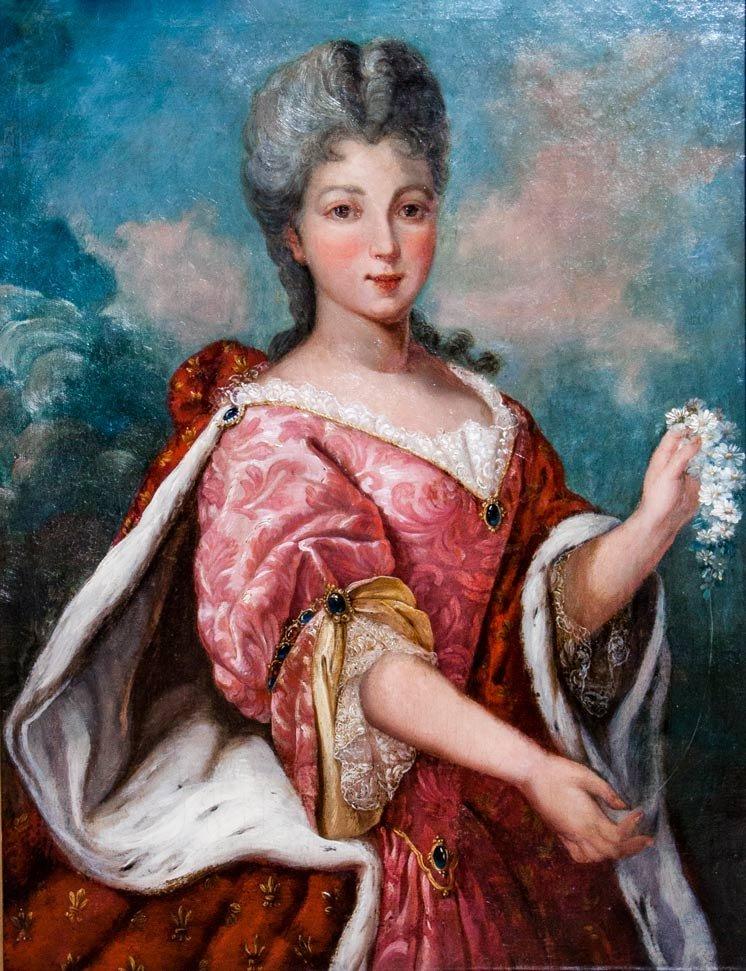 Attributed to Fran?ois Boucher (1703-1770), Madam de