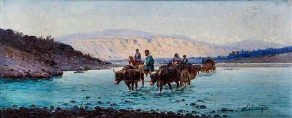 Richard Karlovich Zommer (1866-1939), Crossing the