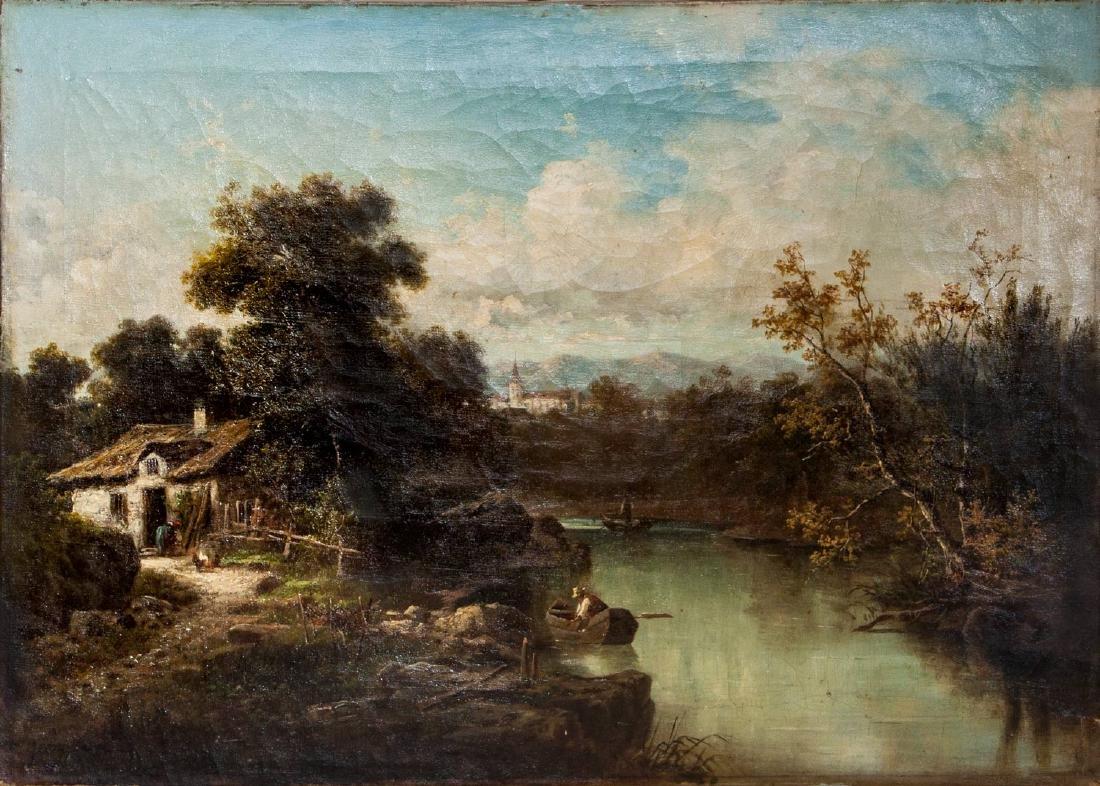 George Caree (Karl Julius Rose) (1821-1911), House by