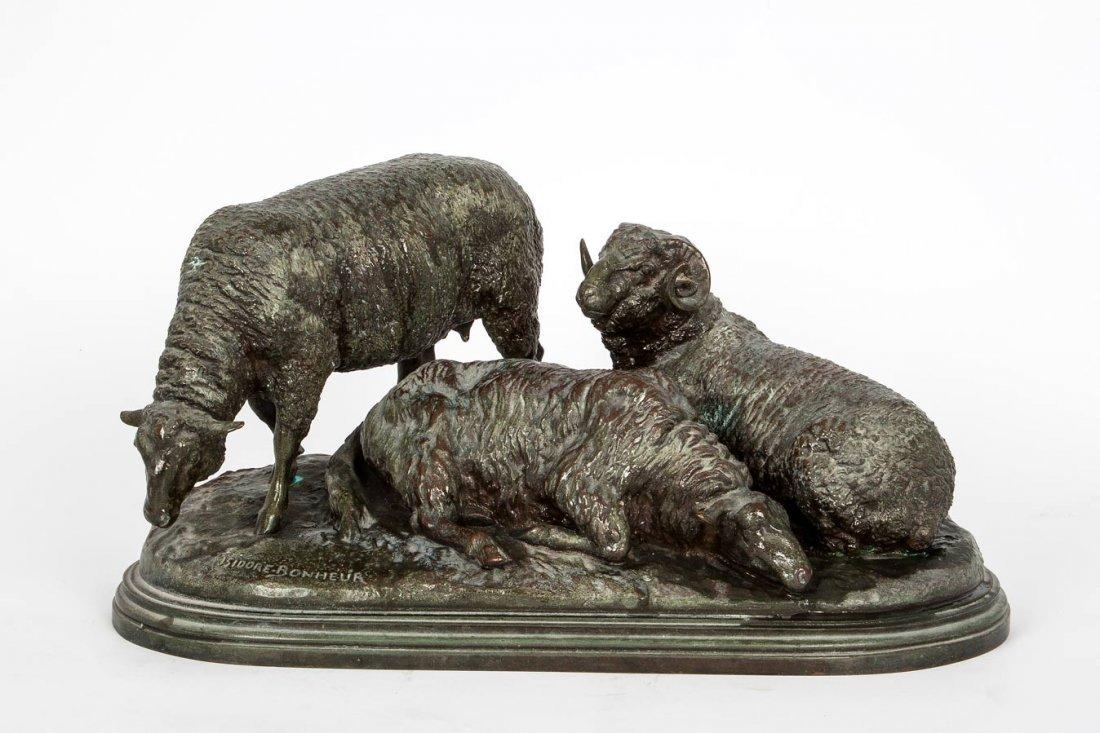 Isidore Jules Bonheur (1827-1901),  Sheep at Rest
