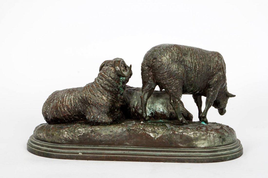 Isidore Jules Bonheur (1827-1901),  Sheep at Rest - 4