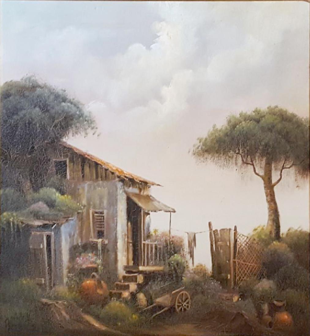 Yaakov Novograd, Landscape