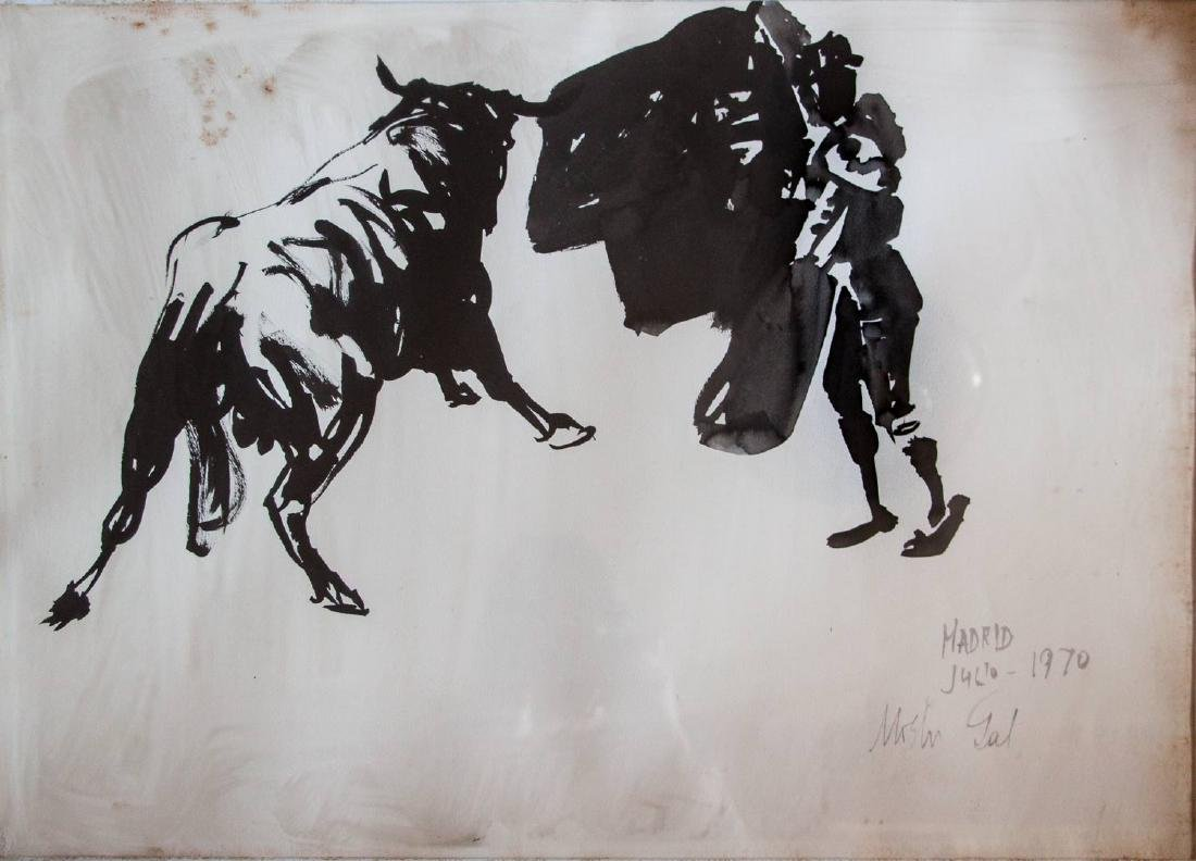 Moshe Gat, Bullfighter