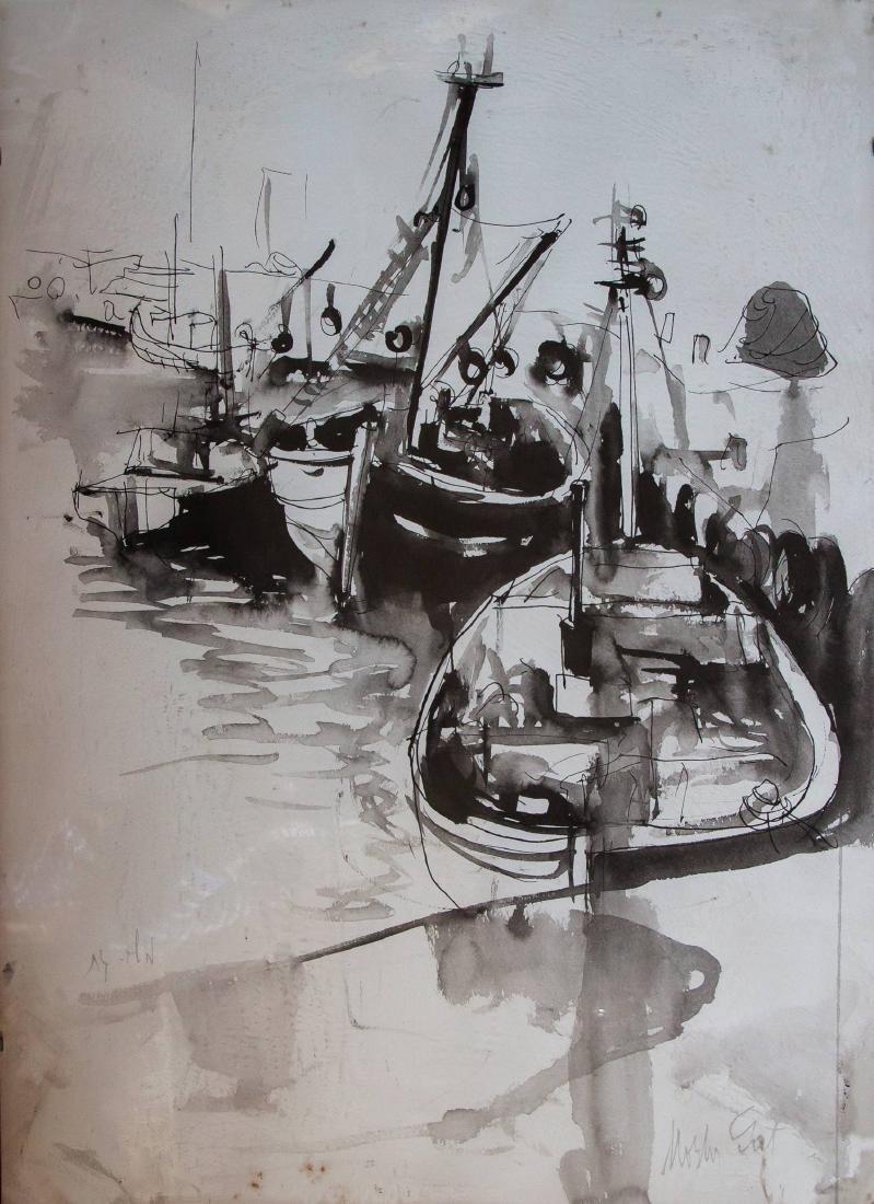 Moshe Gat, Harbor