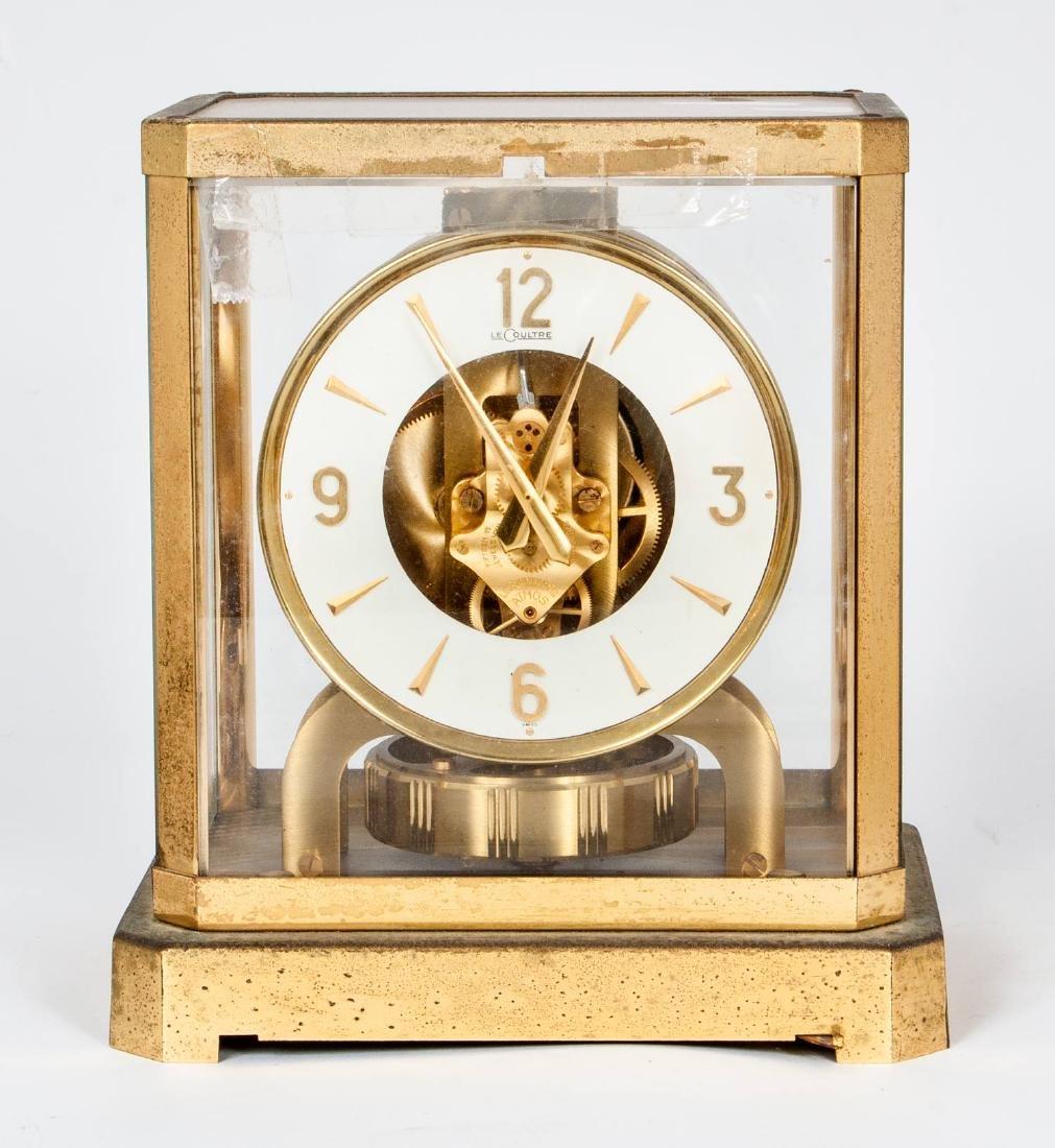 A Vintage Jaeger-LeCoultre Atmos Mantel Clock