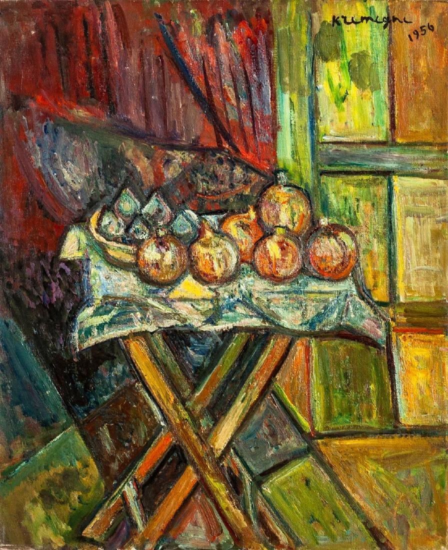 Pinchus Kremegne (1890-1981), Still Life with
