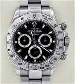 A Rolex Daytona Cosmograph Oystersteel Chronograph