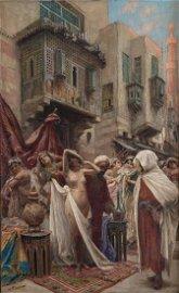 Fabio Fabbi (1861-1946), Slave Market