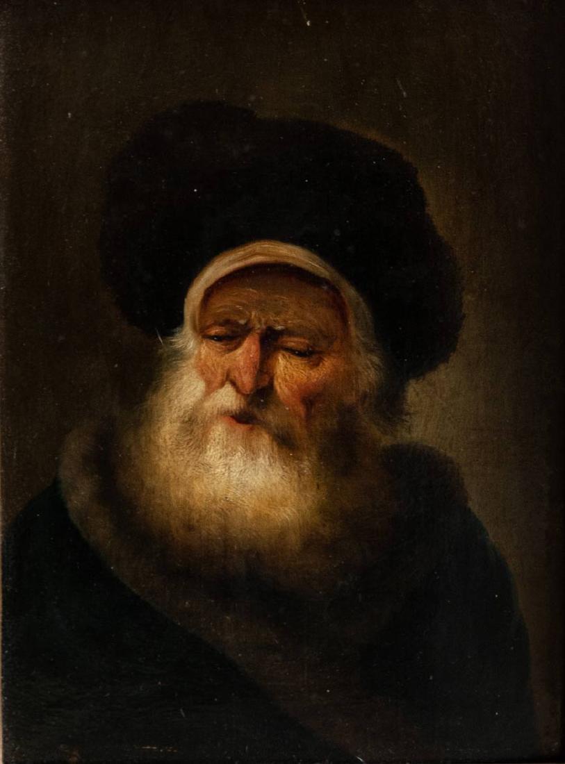 Christian Wilhelm Ernst Dietrich, Portrait of a Rabbi