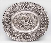 A Fine Silver Sweetmeat Plate, Prob. by Thomas Stoer