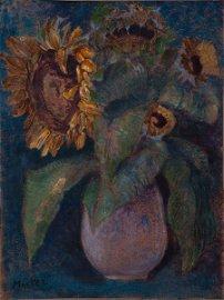 Mela Muter (1876-1967), Sunflowers