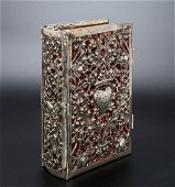 A Magnificent Silver Bookbinding and Hymns Book,