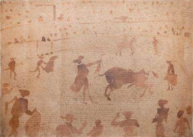 Pablo Picasso, Bull Fight