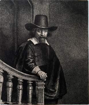 Rembrandt Van Rijn (1606-1669), Der Arzt Ephraim Bonus