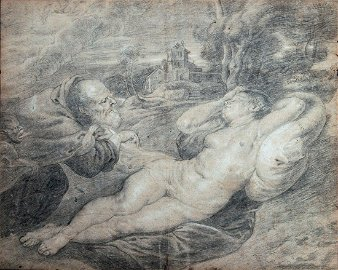 Peter Paul Rubens (1577-1640), Sleeping Angelica and