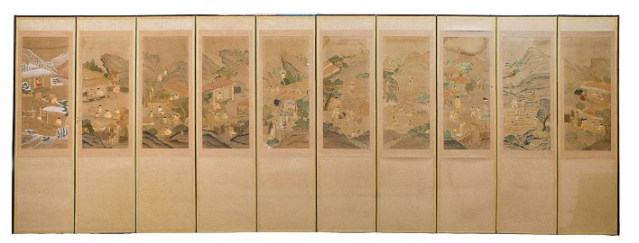 An Exceptionally Large High Quality Antique Korean Ten