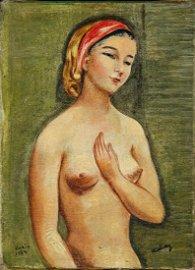 Moïse Kisling (1891-1953), Jeune Fille Nue