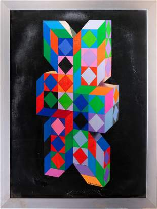 Victor Vasarely, Cubes