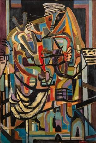 Jankel Adler (1895-1949), The Musician