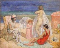 Edward Henry Potthast (1857-1927), Summer Vacation