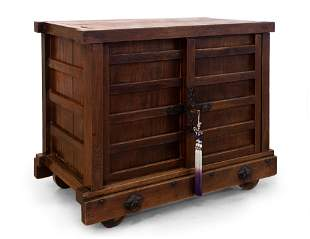 A Fine and Fare Japanese Rosewood Chest of Drawers,
