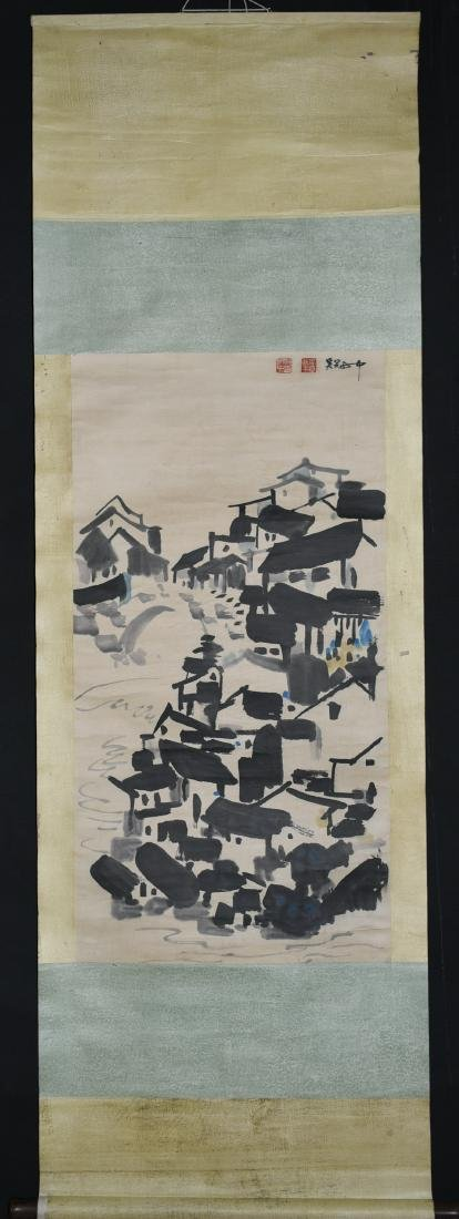Chinese Ink Painting, Wu Guanzhong