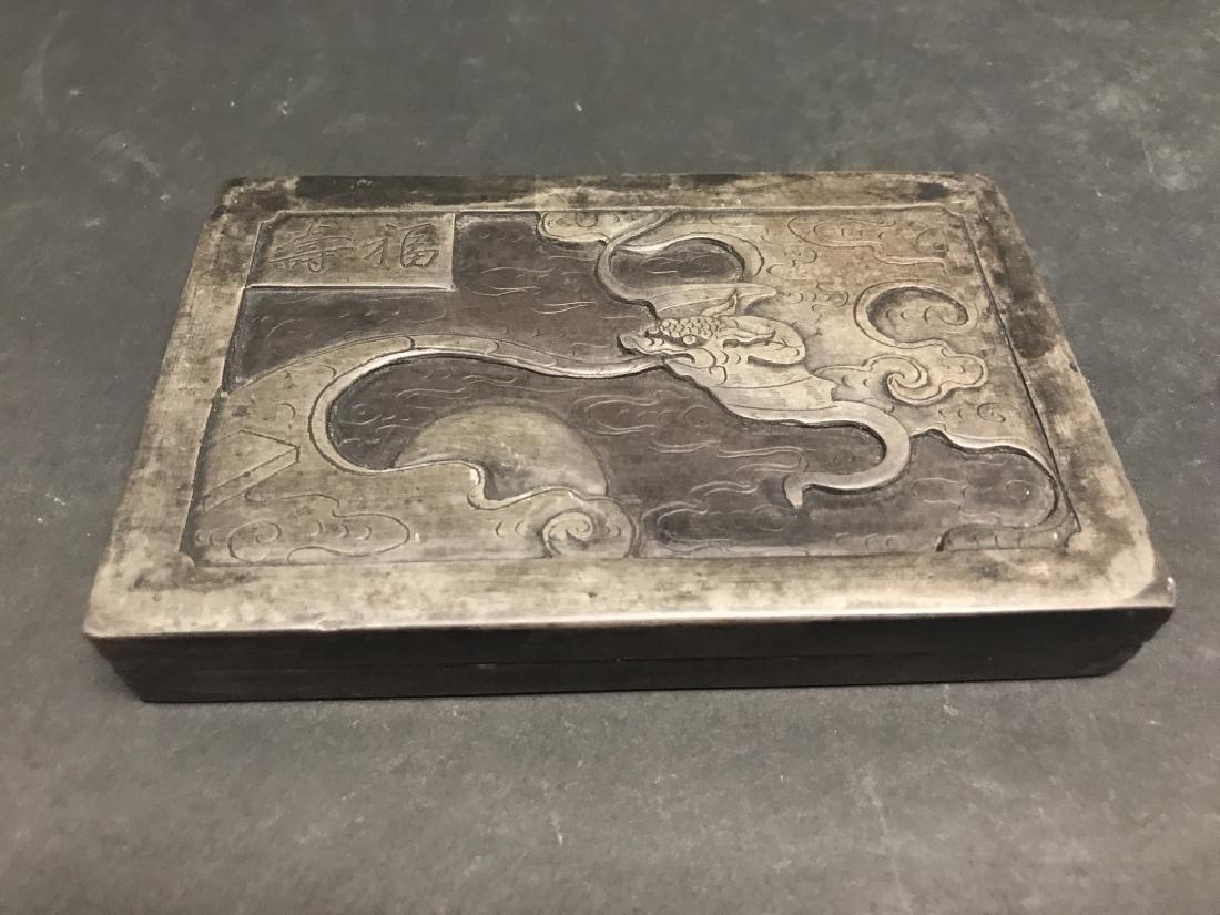 Chinese Songhua Stone Inkstone - 3