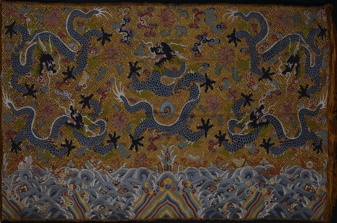 Chinese Embroidery of Dragons