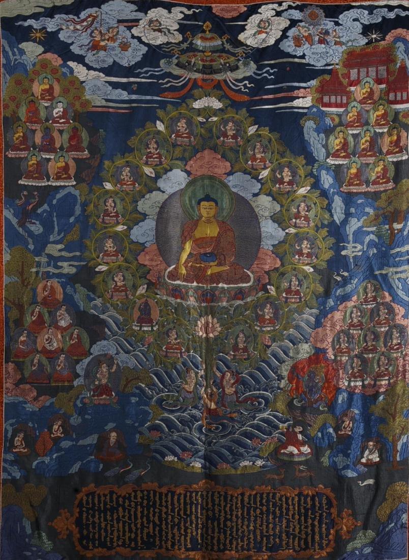 Chinese Embroidery of Buddha
