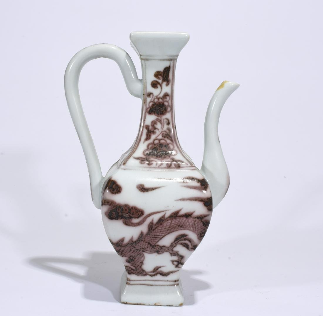 A Copper Red Wine Pot
