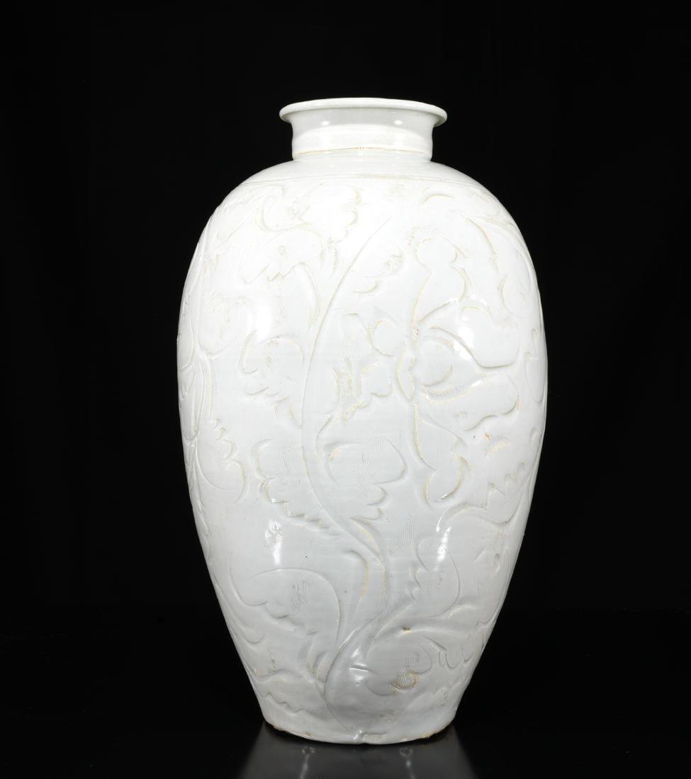 A White Glazed Vase