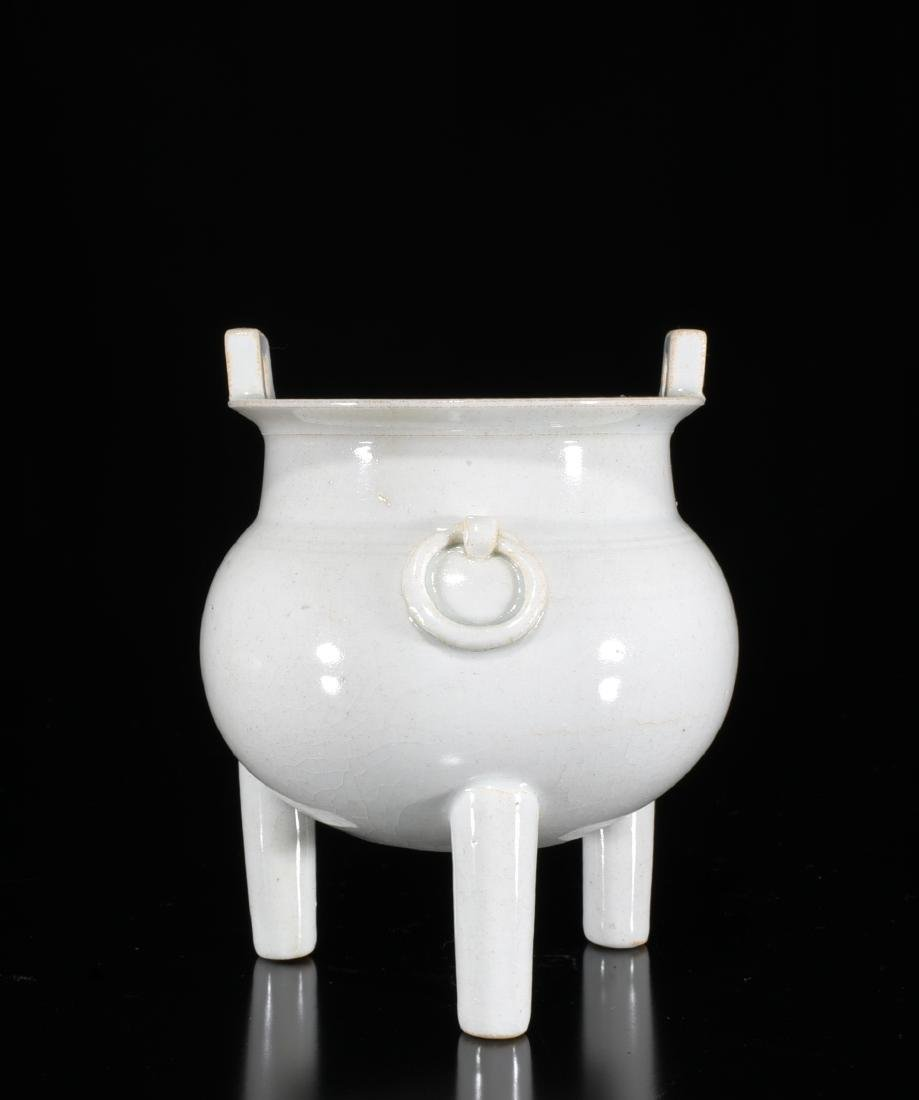 A White Glazed Censer