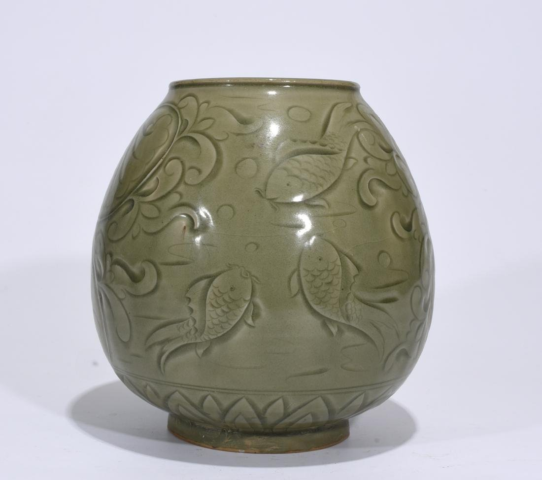 A Yaozhou Ware Jar