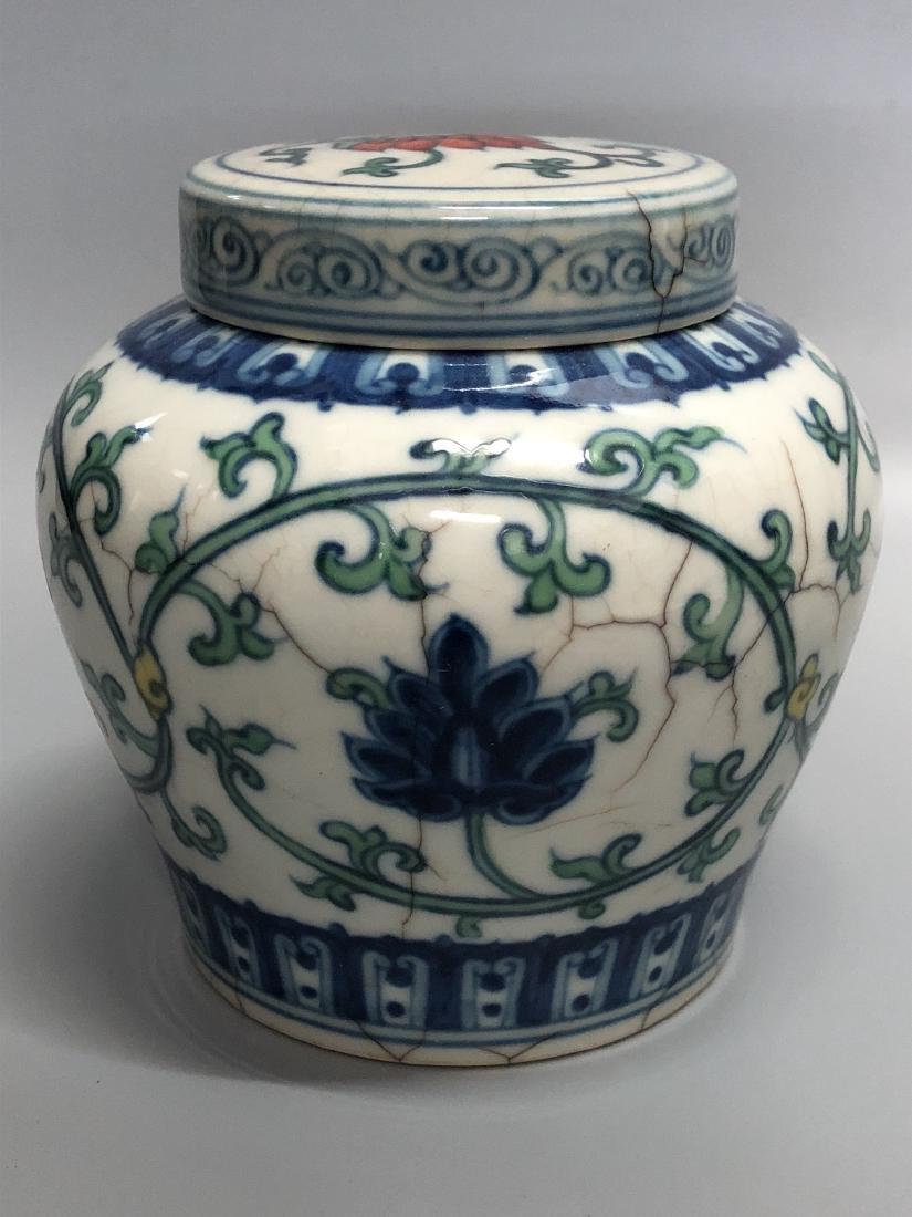 Tian Mark, A Doucai Jar