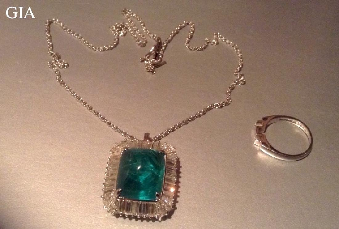 20 Ct A Natural Emerald With GIA