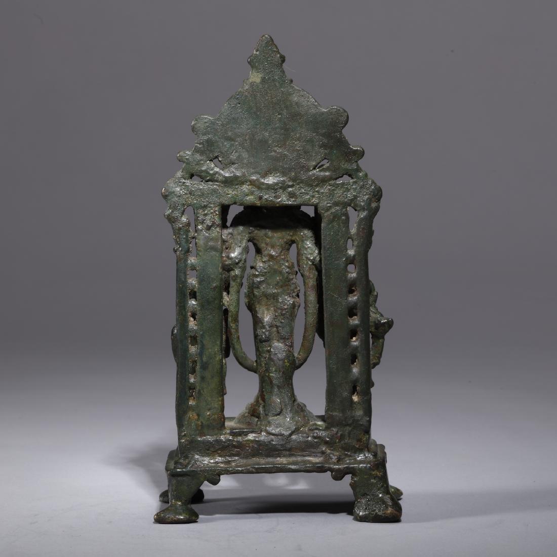 A Bronze Indian Figure of Vishnu - 4