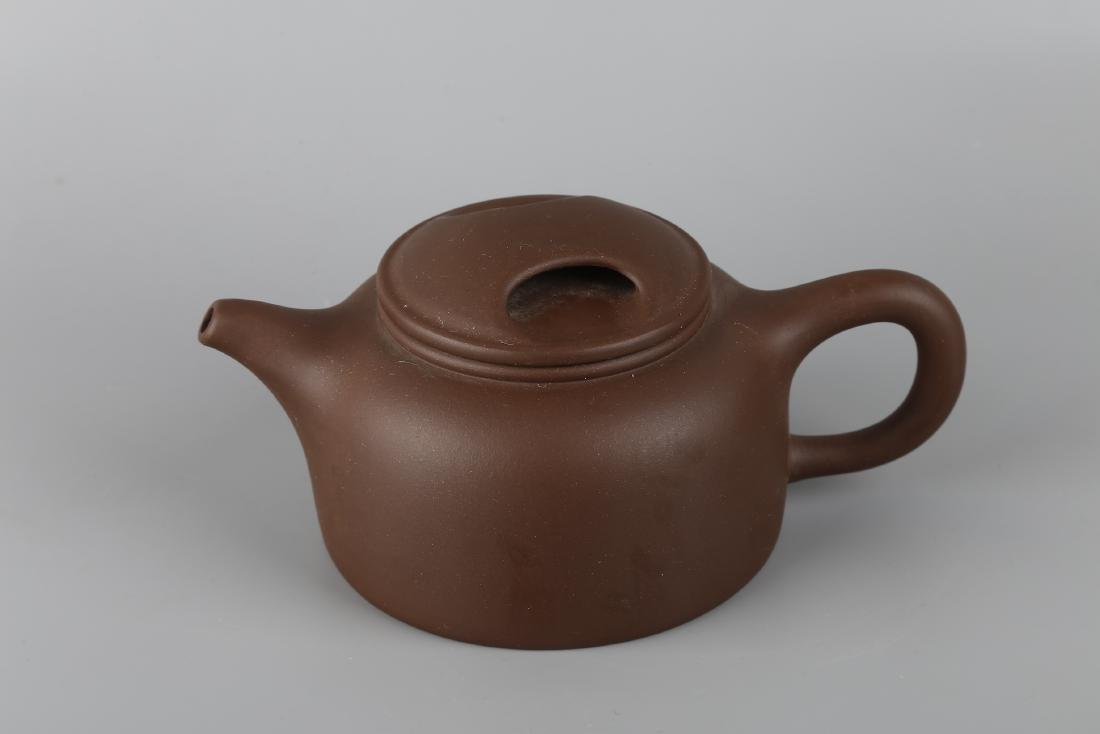 A Yixin Purple Clay Teapot