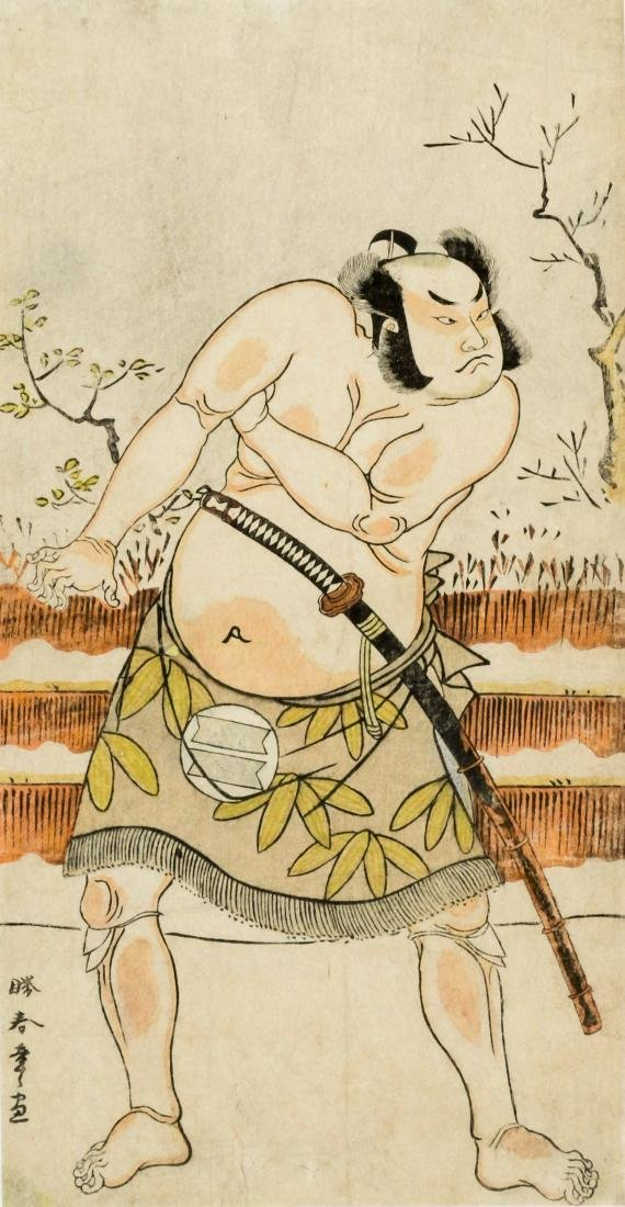 Two Japanese prints