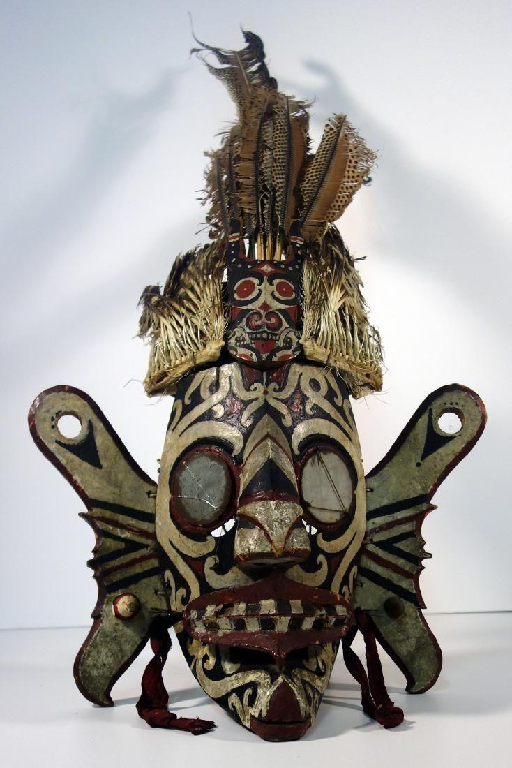 Kalimantan Ceremonial Mask