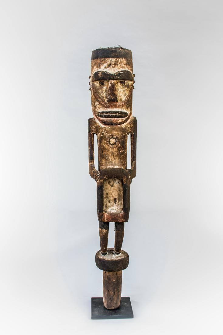 Wooden Statue of Tangalla Warrior
