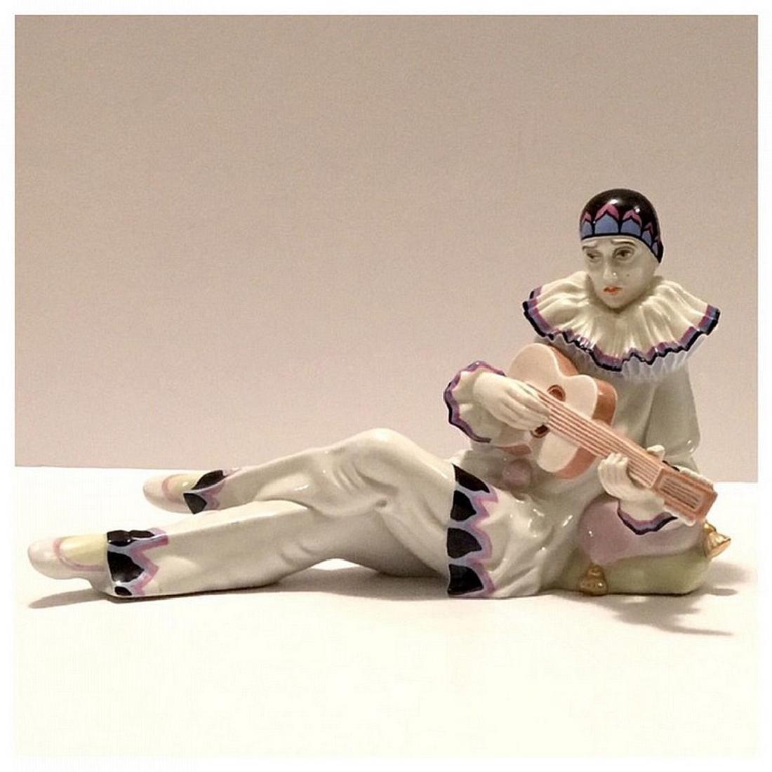 Rosenthal German porcelain Pierrot clown figure - 2
