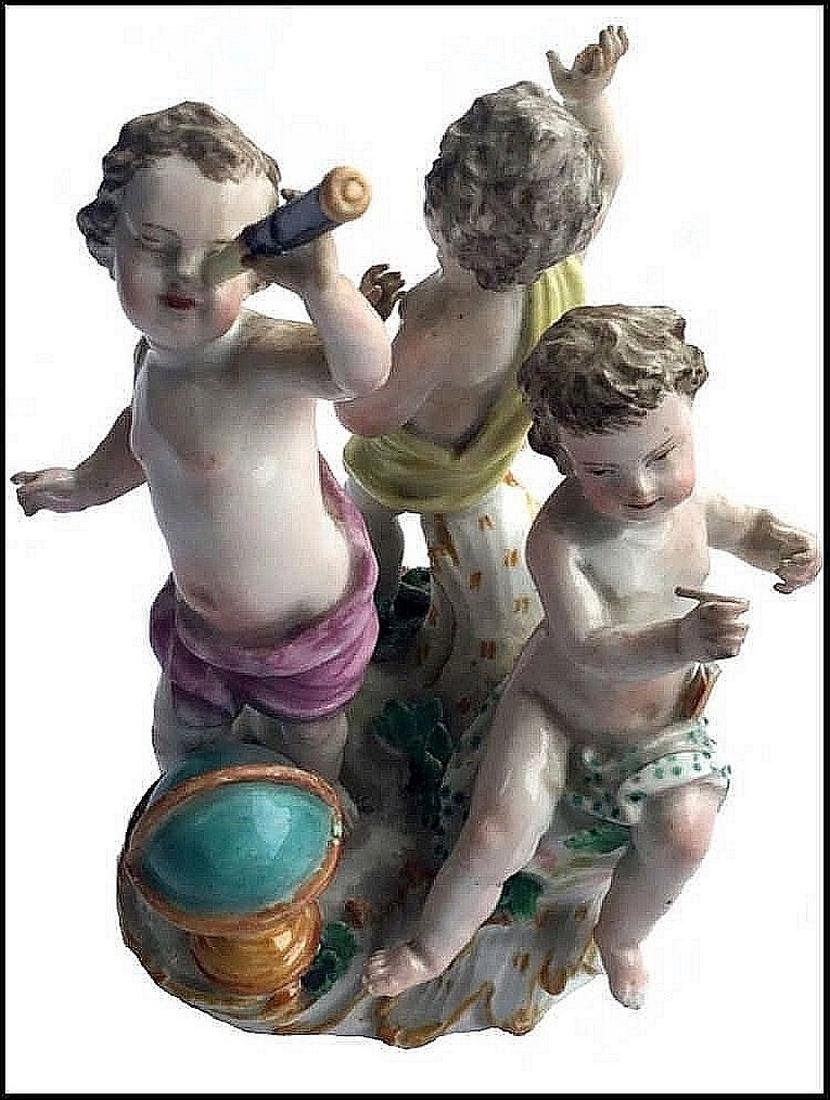 Meissen figure group